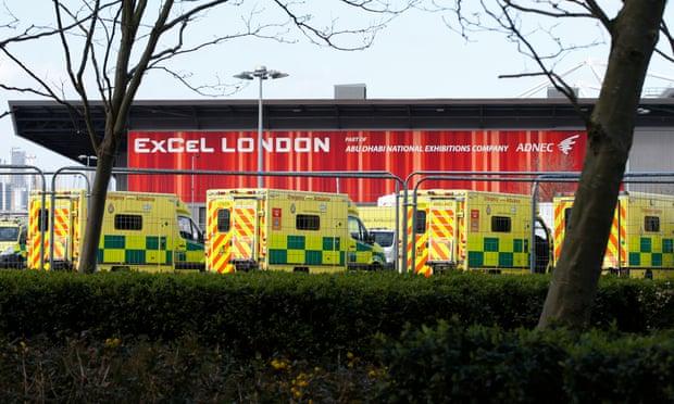 Mais pedidos de ventiladores do NHS chegam a 61.000